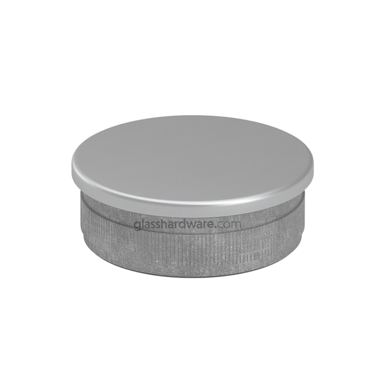 Flat End Cap for 1-1/2 Round Tube 2